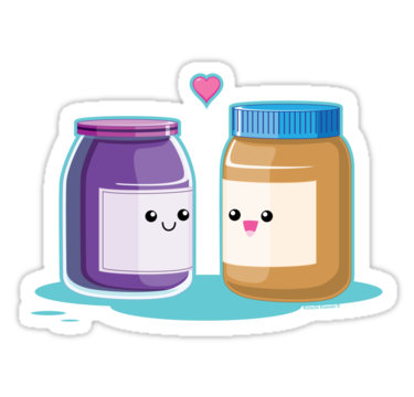 Peanut Butter clipart cute Butter Sticker Jelly and Peanut