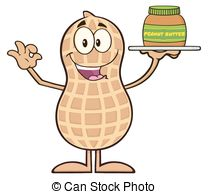 Peanut clipart cartoon Butter Holding 219 Peanut Clipart