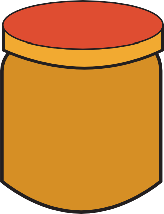 Peanut Butter clipart transparent Butter Period A On —