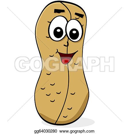 Peanut clipart cartoon Clip Greeting Art Free Cartoon