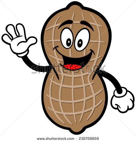 Peanut clipart cartoon Clipart clipart peanut Cartoon peanut