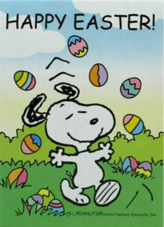 Peanut clipart happy easter Snoopy Brazinsky Clipground on Marty