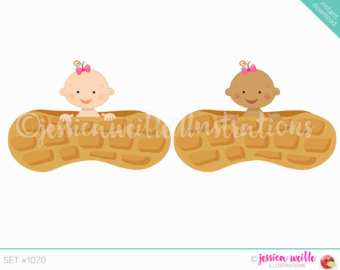 Peanut clipart lil Cute Girl Baby a Instant