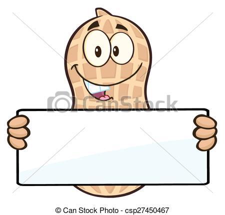 Peanut clipart logo Clip Sign  Sign Holding
