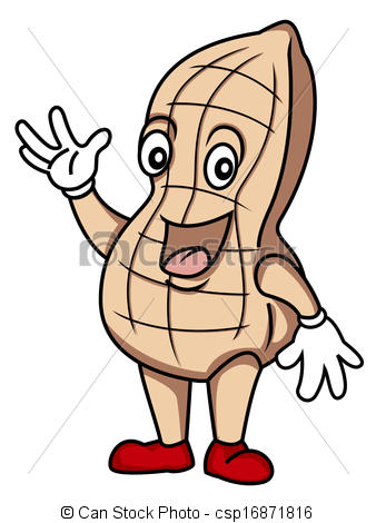 Peanut clipart logo Peanut Art peanut  Clipart