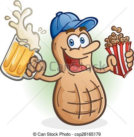 Peanut clipart logo Vectors A Beer Cartoon Cartoon