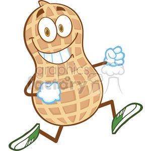 Peanut clipart march Running 07 New Art Smiling