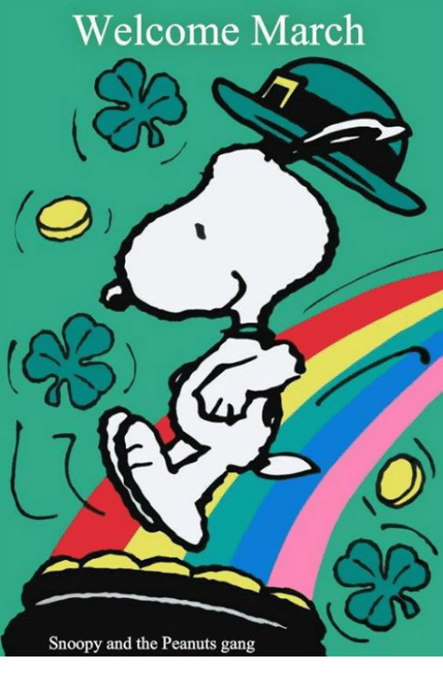 Peanut clipart march On Peanuts Welcome Snoopy Memes