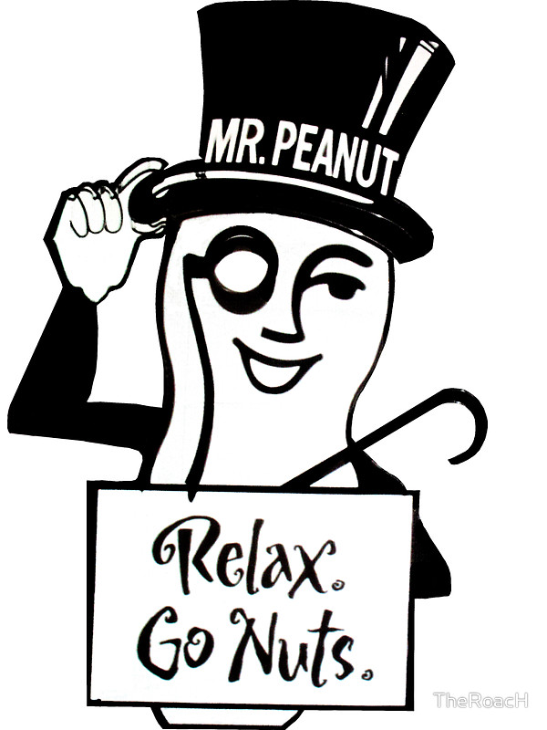 Peanut clipart mr peanut TheRoacH TheRoacH Peanut Mr Stickers