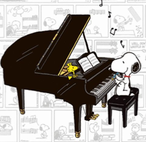 Peanut clipart piano Piano Find more Cartoons on