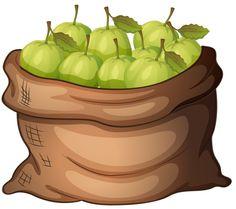 Pear clipart bag Running Worried Worried Pear Art