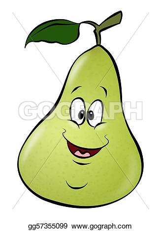 Pear clipart cute A Clipart Clipart Drawing pear