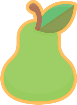 Pear clipart cute Svg Download svg svg Pear