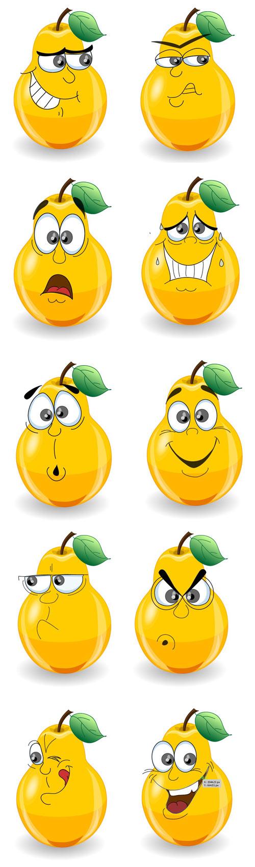 Pear clipart cute cartoon Pinterest har Clipart Cute