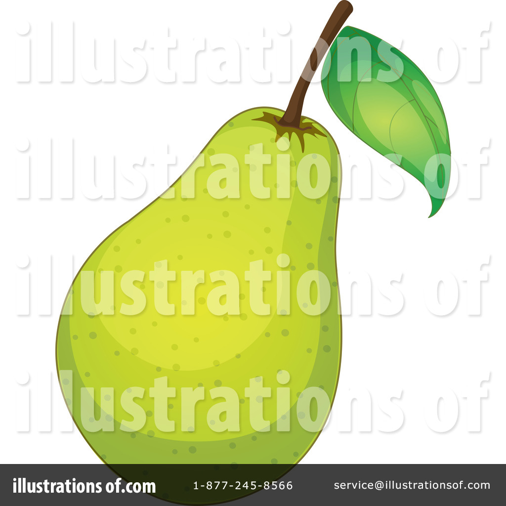 Pear clipart different fruit Illustration Clipart Pear (RF) by