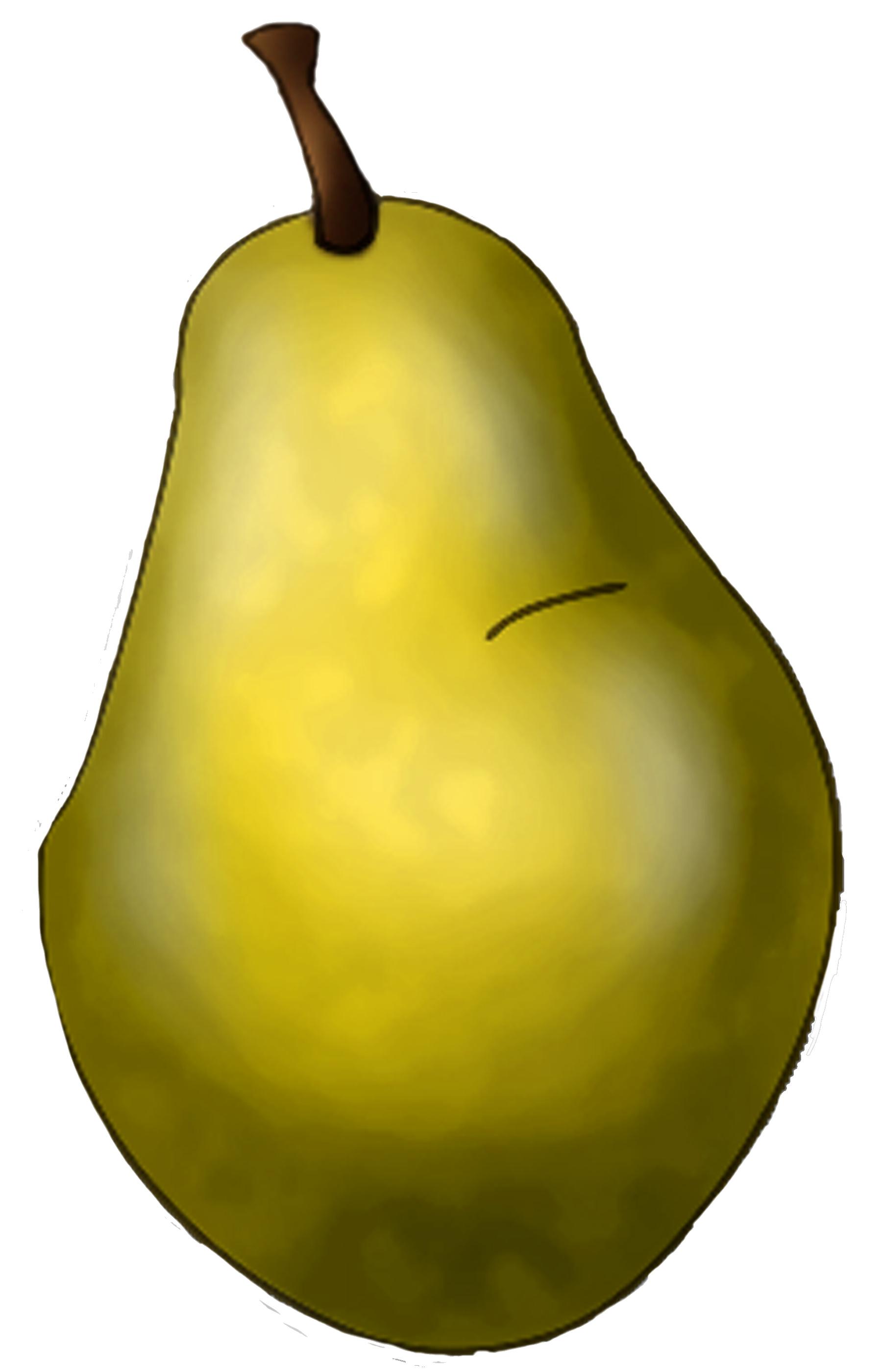 Pear clipart different fruit Clipart kawaii tags art clip