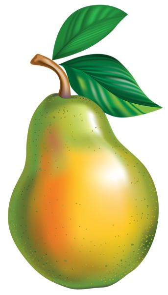 Pear clipart fruite Em Pear Best PNG Clipart