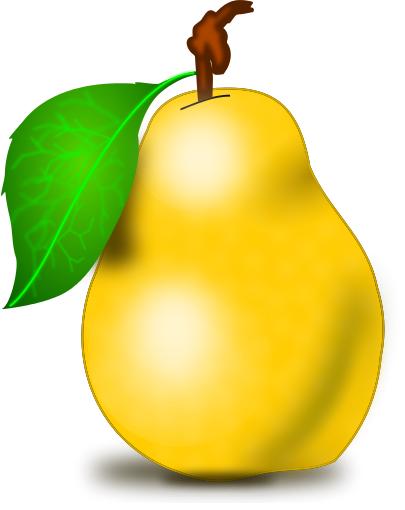 Pear clipart fruite Free Public Pear Clipart Pear