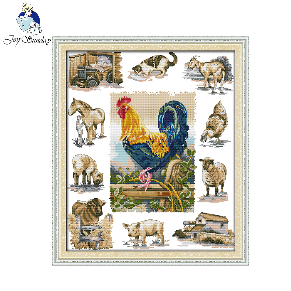 Pear clipart lukisan China hewan cross stitch tangan