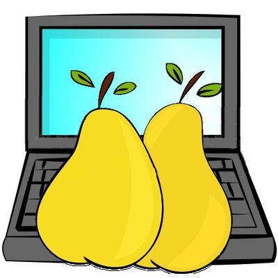 Pear clipart pair Pair Pears Of Pears Pair