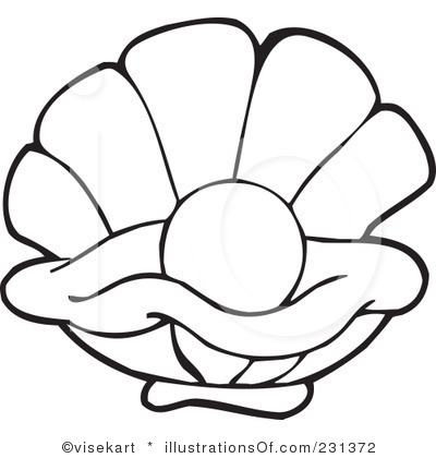 Pearl clipart black and white Images Clipart Panda Free Clipart