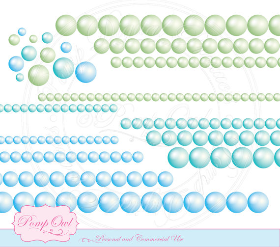 Pearl clipart blue sea Scrapbooking Clipart images turquoise Beautiful