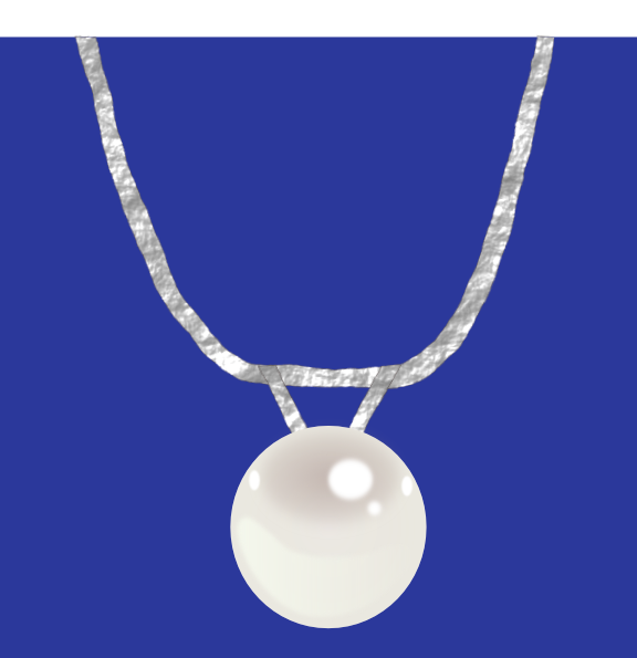 Pearl clipart chain necklace Pearl vector com free com