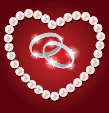 Pearl clipart heart shaped Heart Heart Vector shaped free
