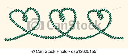Pearl clipart heart shaped South in of Sea black