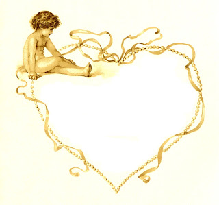 Pearl clipart heart shaped Graphic Frame Vintage of Heart