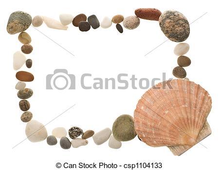 Pebble clipart the beach Beach beach Shell Shell pebble