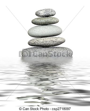 Pebble clipart water In  on gray water