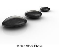 Pebble clipart black and white Render  on 890 arranged