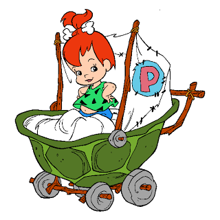 Pebbles clipart pebbles flintstone Flintstones Free Characters Flintstones Pebbles