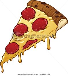 Potato clipart pizza dough Cool Of Slice Free Smiling