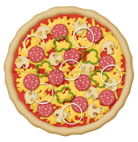 Pebbles clipart pizza dough Illustrations Pizza on images 161