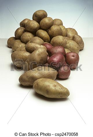 Pebbles clipart potatoe Of Pile potatoes Potatoes of
