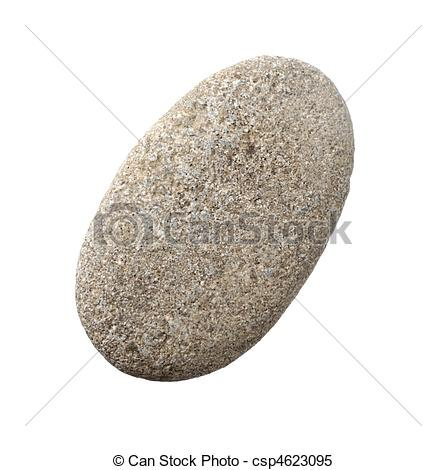 Pebbles clipart smooth stone #10