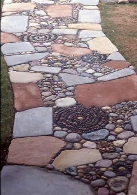 Pebbles clipart stone pathway For Stone Paths Pinterest 13