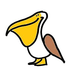 Pelican clipart animated Cartoon Cartoon Art Art Clip