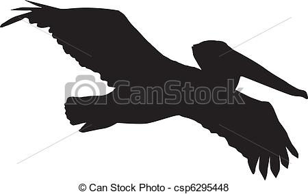 Pelican clipart silhouette Pelican Stock of images Illustrations