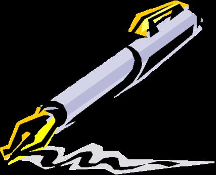 Pen clipart Clipart clipartfest images com Pen