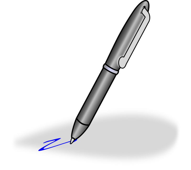 Pen clipart writing pad Pictures pen Clipart clipart Clipartix
