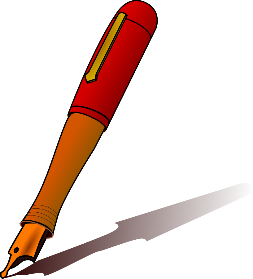 Pen clipart color pen Clipart Free Clipartix art Pen
