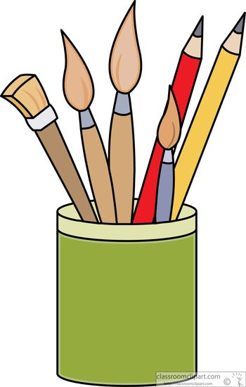 Gallery clipart paint Pencils Size: supplies Free Clipart