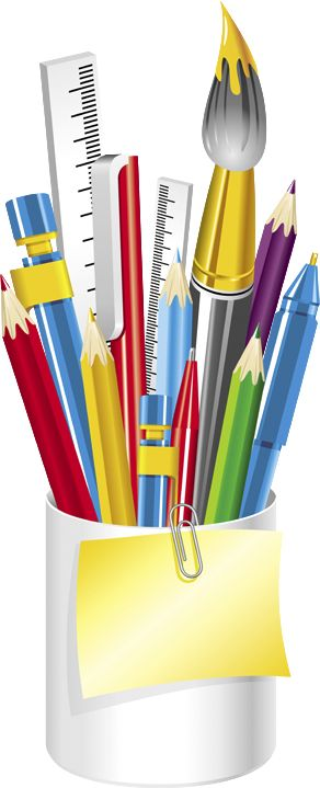 Artistic clipart drawing material School art CUP on ART