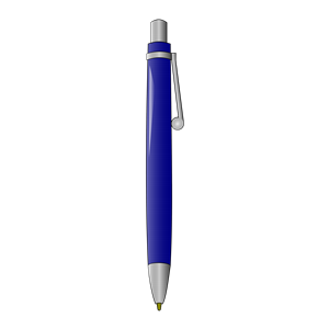 Pen clipart blue pen Clip Art Clipart Print Clipart