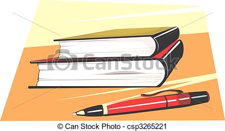 Bobook clipart pen And of and Book Book