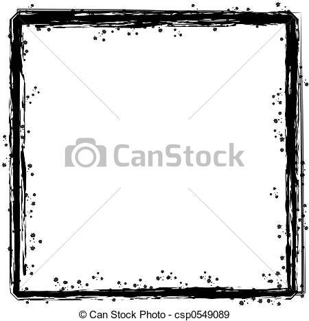 Pen clipart border Border inky inky Illustration abstract