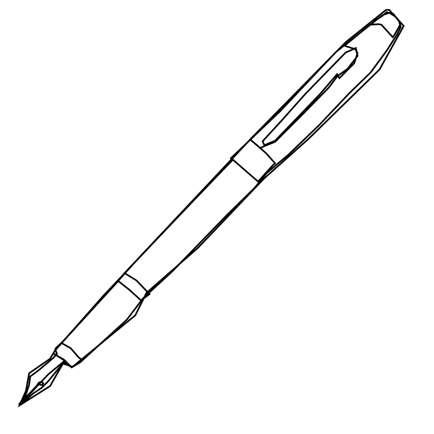 Pen clipart drawing Art Art Drawing Download on